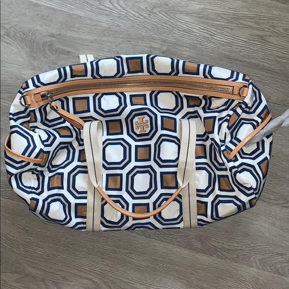 Tory Burch Handbags - Tory Burch Gym Bag: never been used